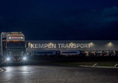 Vrachtwagen / Pand Kempen Transport