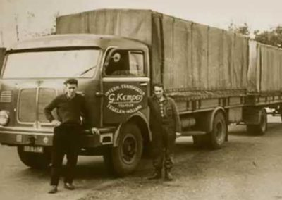Oude vrachtwagen Kempen Transport