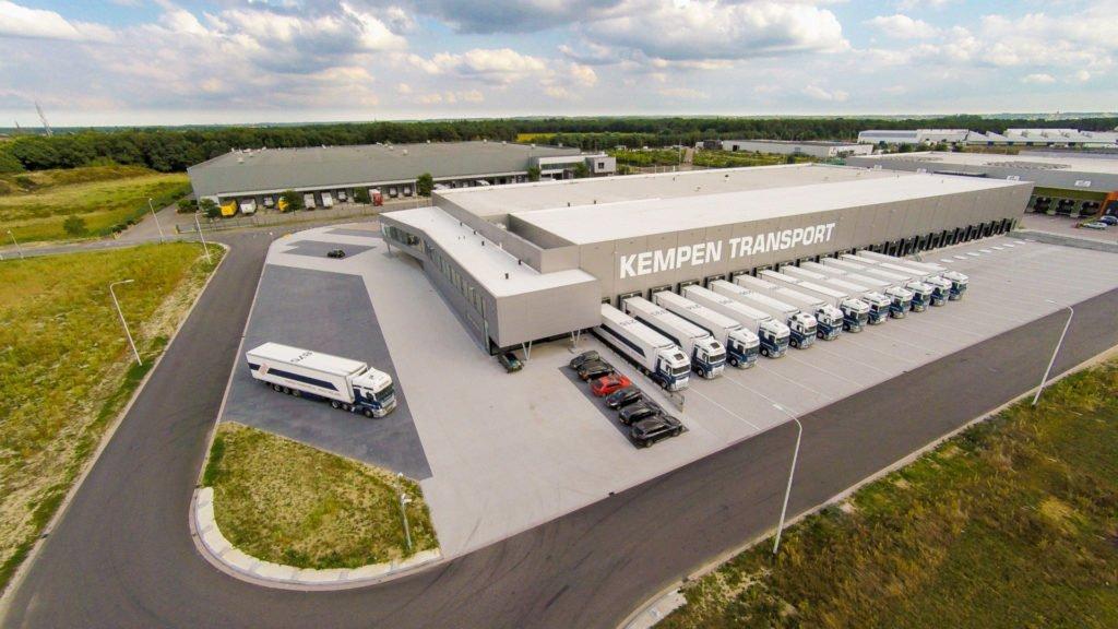 Luchtfoto Kempen Transport