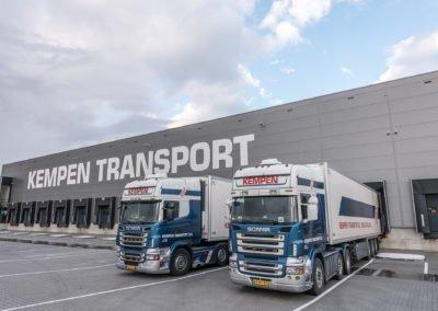 Vrachtwagens Kempen Transport